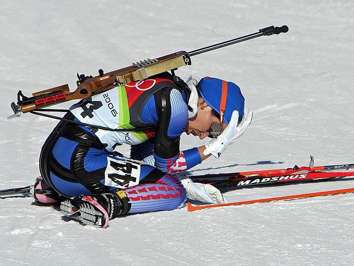 На Олимпиаде 2006 года в Турине биатлонистка Ольга Пылева была лишена серебряной медали и дисквалифицирована на два года. Эксперты установили, что спортсменка употребляла медикаментозные средства, содержащие карфедон