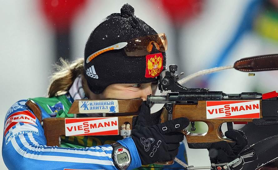 В 2014 году за применение этого же препарата Екатерина Юрьева (на фото) была отстранена на восемь лет и завершила карьеру, а биатлонистка Ирина Старых — на два года. Позже сроки увеличили до 12 и 3 лет соответственно.