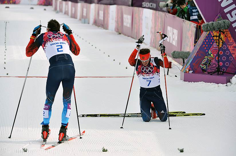 30 октября 2017 года дисциплинарная комиссия МОК признала лыжников Александра Легкова и Евгения Белова виновными в нарушении антидопинговых правил на Играх в Сочи. Сборная лишилась двух медалей. 9 ноября из-за положительных допинг-проб были аннулированы результаты еще четырех участников Олимпиады-2014 — лыжников Алексея Петухова, Максима Вылегжанина, Евгения Шаповалова и Юлии Ивановой. 1 февраля 2018 года Спортивный арбитражный суд (CAS) восстановил индивидуальные результаты, показанные на Играх в Сочи. Вина Юлии Ивановы была доказана, однако вместо пожизненного олимпийского запрета спортсменка не сможет принять участие только в Играх-2018