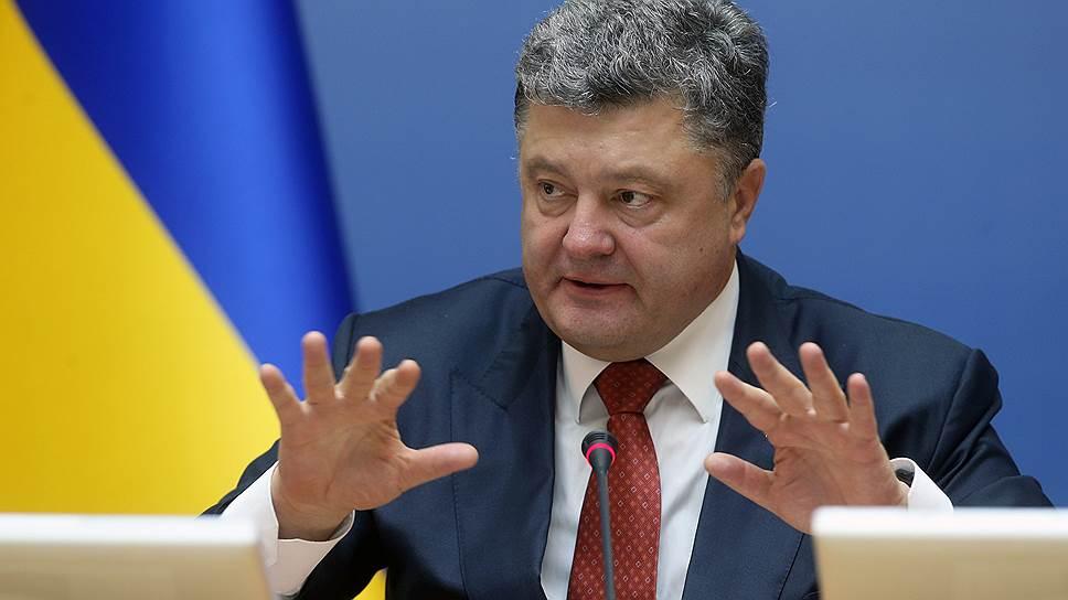 Как Петр Порошенко инициировал блокаду Крыма