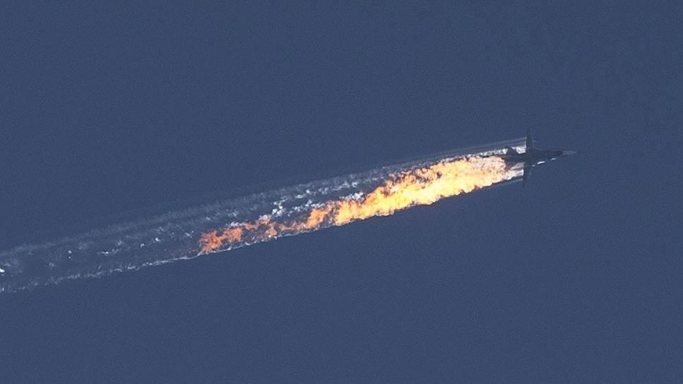 """Онлайн-трансляция """"Ъ"""": На сирийско-турецкой границе сбит российский Су-24"""