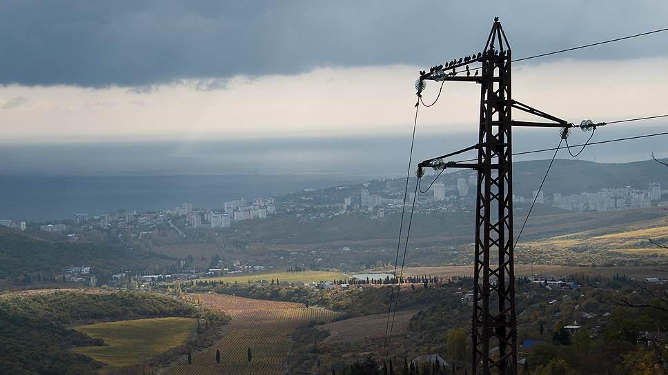 Как Россия может ответить  на энергоблокаду Крыма