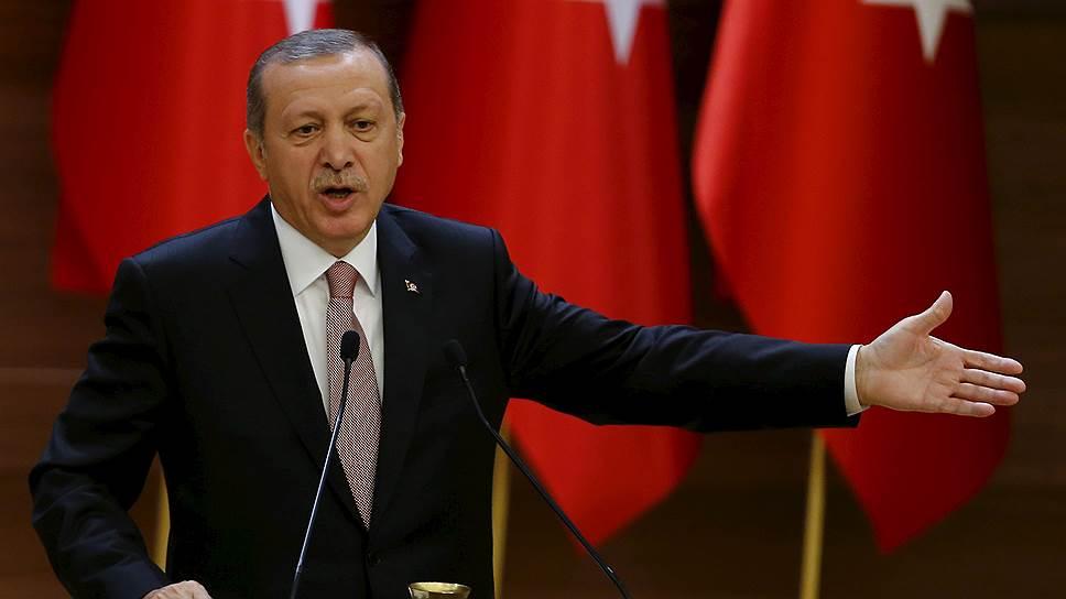 Как президент Турции прокомментировал инцидент со сбитым российским Су-24