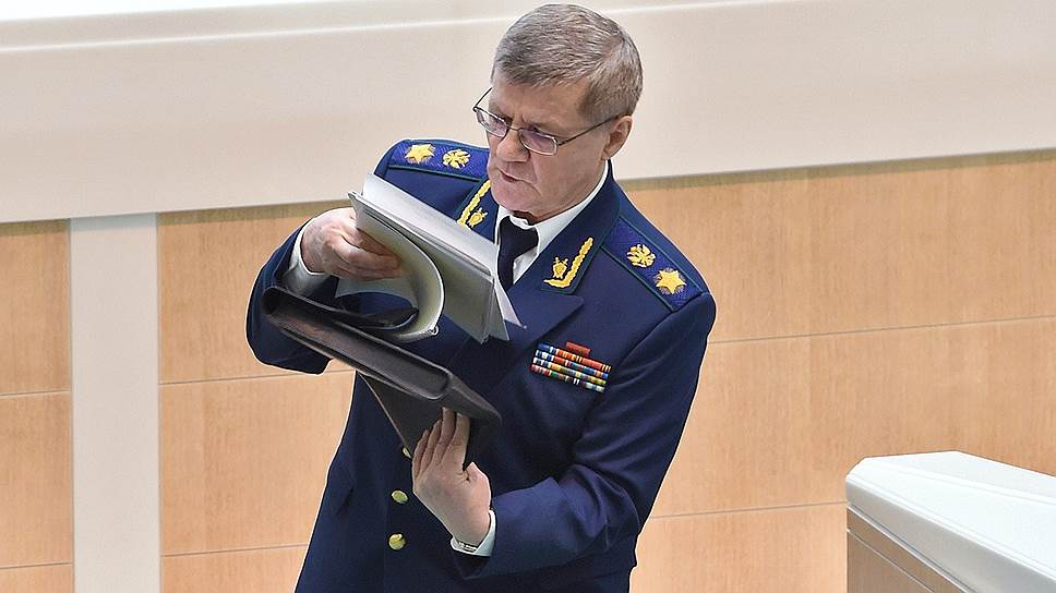 Юрий Чайка нашел в расследовании фонда Алексея Навального заказчика