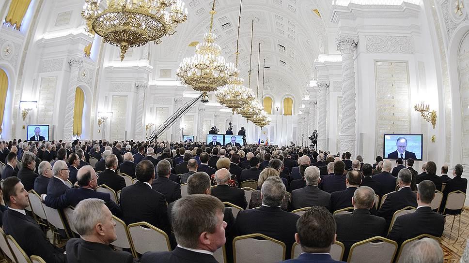 Что Владимир Путин сказал о бизнесе и финансах