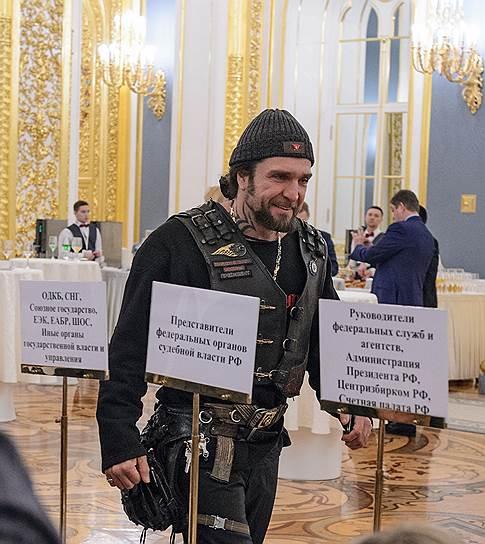Президент Российской ассоциации байкеров Александр Залдостанов («Хирург»)