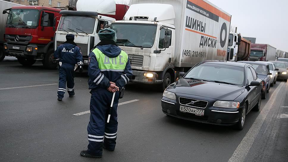 «Число грузового транспорта ниже средних показателей»