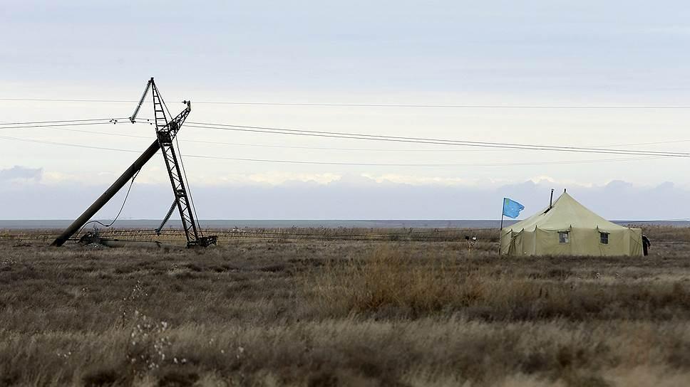 Порошенко пообещал дать свет в Крым