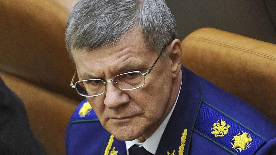 Администрация президента объявила, что не интересуется деятельностью семьи Юрия Чайки
