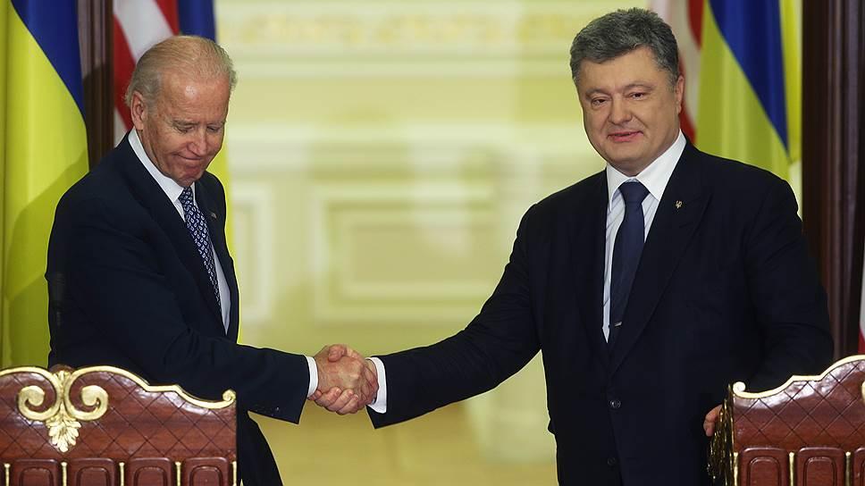 Как вице-президент США Джозеф Байден начал визит в Киев