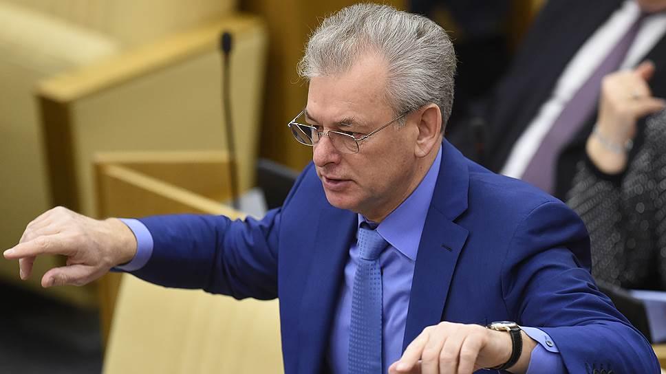 Сенатор, член высшего совета «Единой России» Николай Булаев