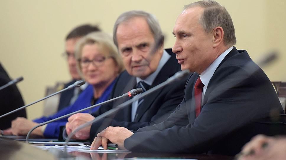 Владимир Путин считает «весьма важным» право РФ не исполнять решения ЕСПЧ