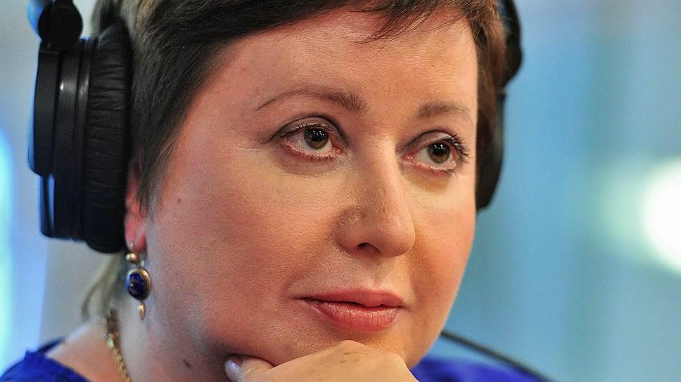 Журналистка Ольга Романова
