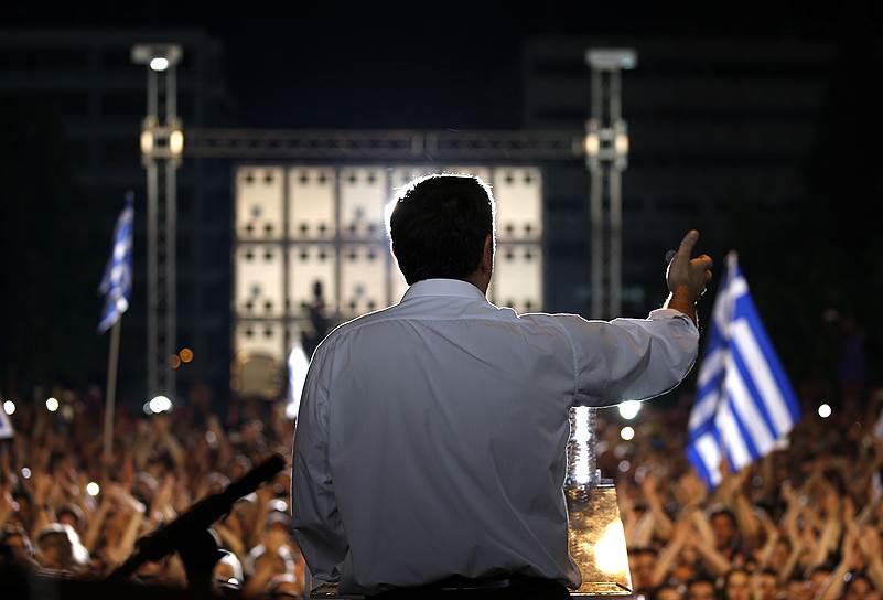5 июля. Референдум в Греции по соглашению с международными кредиторами