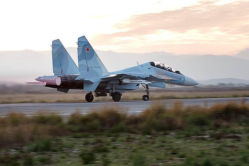 30 сентября. Начало операции ВКС России в Сирии
