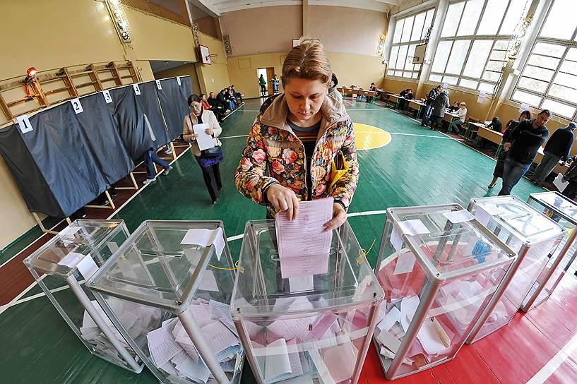 25 октября. Местные выборы на Украине
