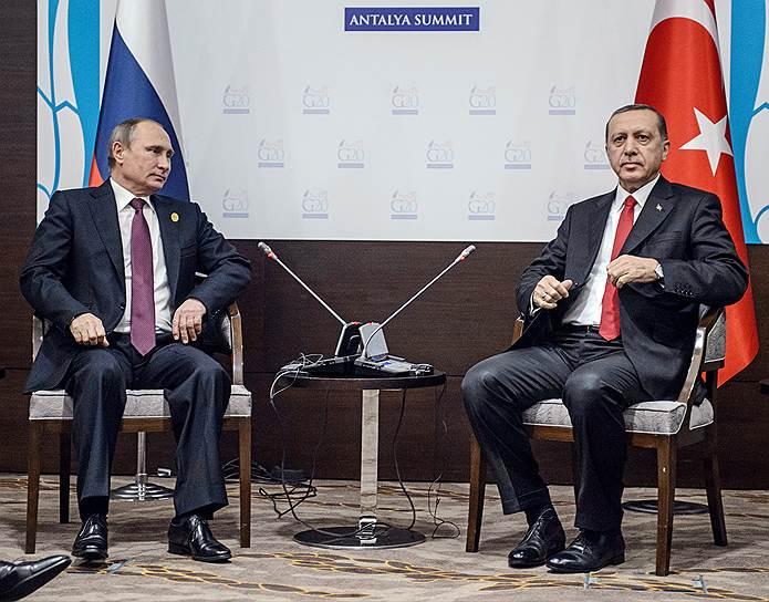 15 ноября. Саммит G20 в Турции с участием Владимира Путина
