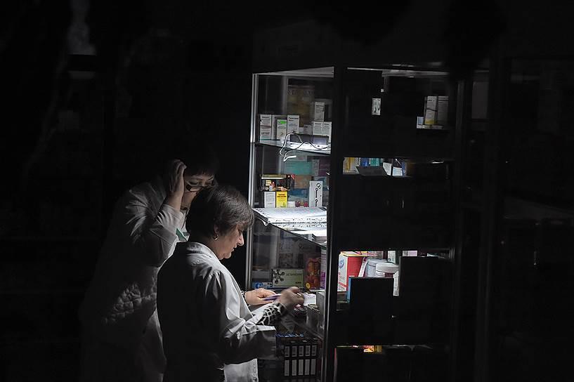 22 ноября. Начало энергоблокады Крыма после подрыва ЛЭП на Украине