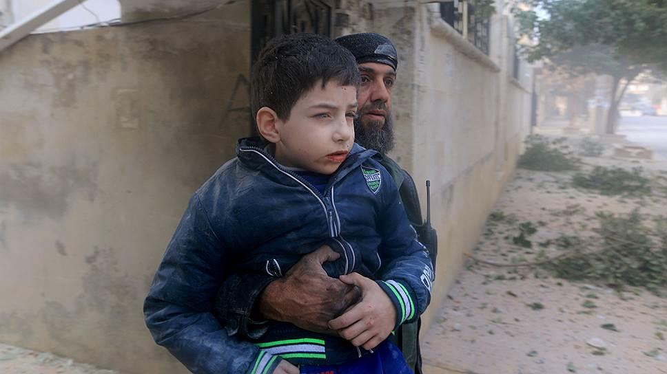 Amnesty International обвинила Россию в военных преступлениях в Сирии