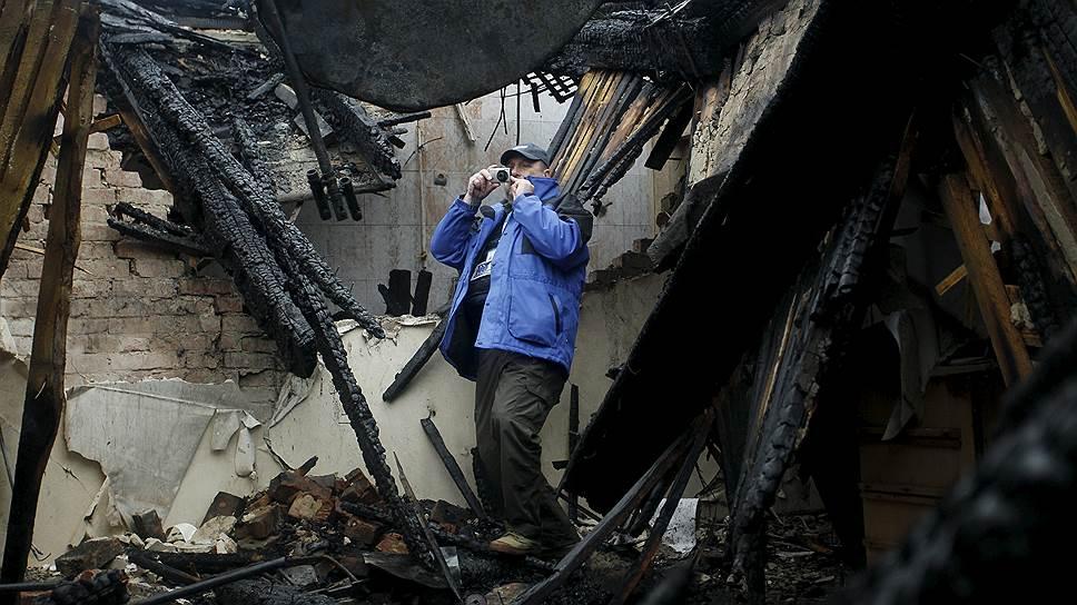 Как представители ОБСЕ попали под обстрел в Донбассе