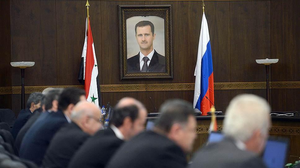 Россия видит Асада президентом Сирии после выборов 2017 года