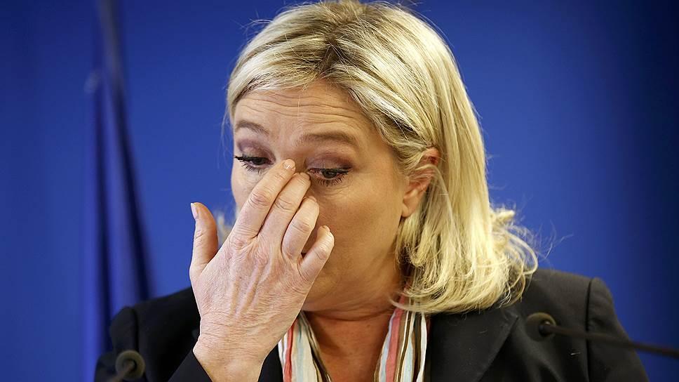 Как Марин Ле Пен угрожали судом из-за налоговой декларации