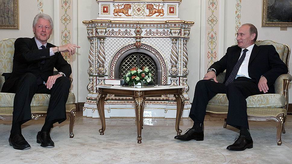 Билл Клинтон на посту президента отмечал «огромный потенциал» Владимира Путина