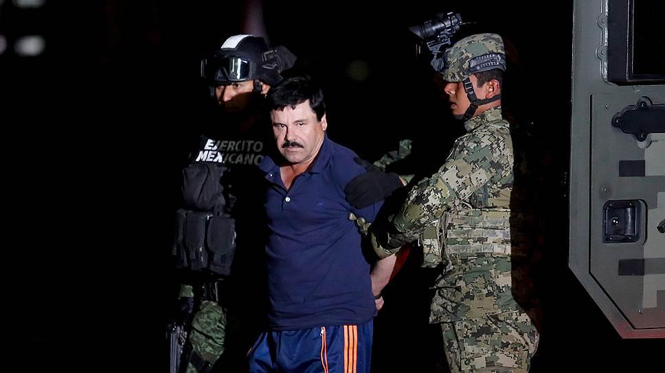 Известный мексиканский наркобарон Хоакин Гусман Лоэра, прозванный Эль-Чапо (Коротышка)