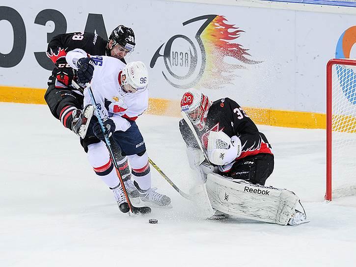 2-3 места: «Авангард» (8 очков)<br>Восемь побед в регулярном чемпионате КХЛ