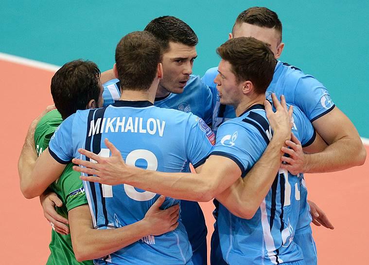 4-5-6-7 места: «Зенит»(7 очков)<br>Три победы в чемпионате России, две победы в Лиге чемпионов