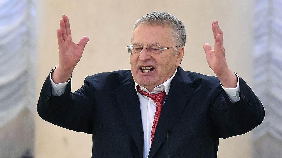 Лидер Либерально-демократической партии России (ЛДПР) Владимир Жириновский