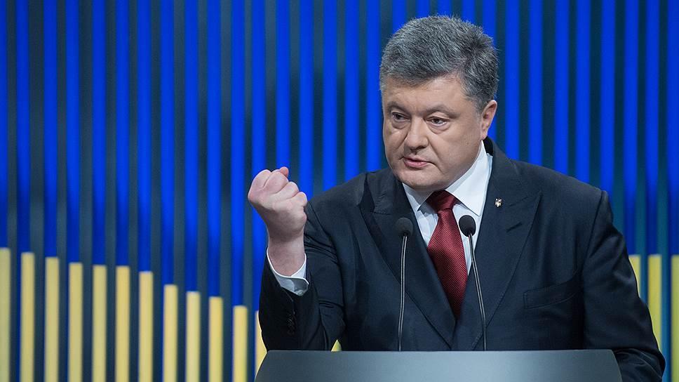 Что Петр Порошенко ответил на вопрос о тайной встрече с Борисом Грызловым