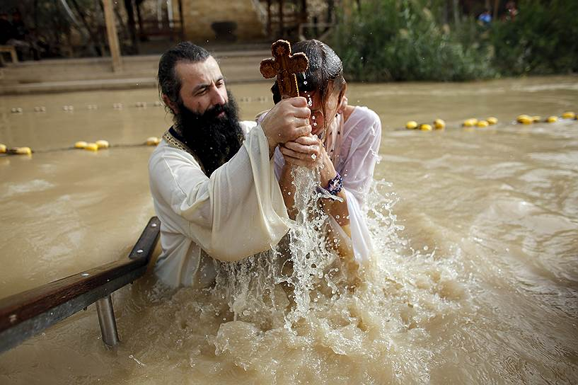 Каср-эль-Яхуд, Западный берег Реки Иордан. Церемония крещения