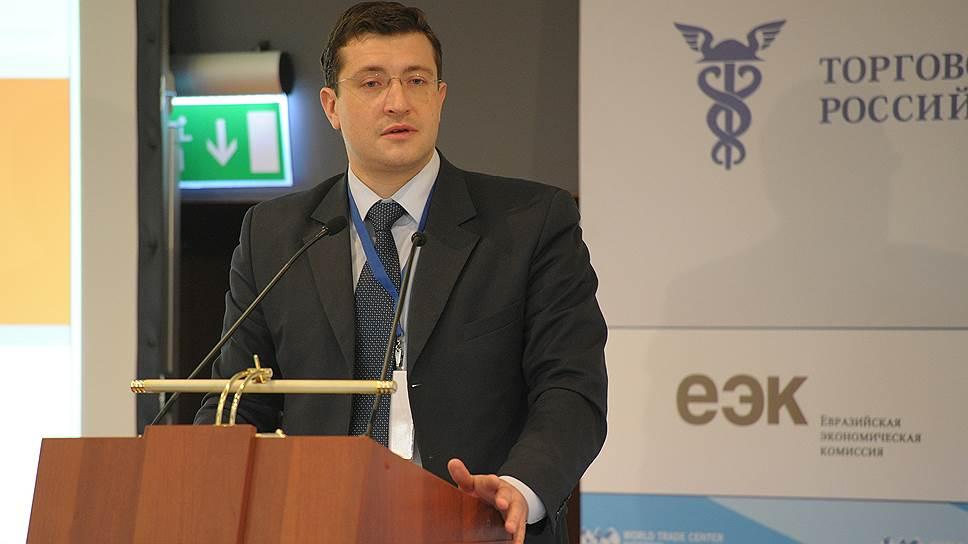 Первый заместитель главы Минпромторга Глеб Никитин