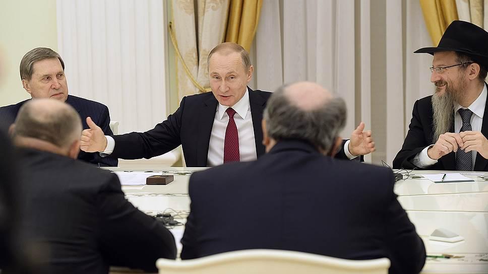 Владимир Путин распахнул двери России для всех покидающих в спешке Европу евреев