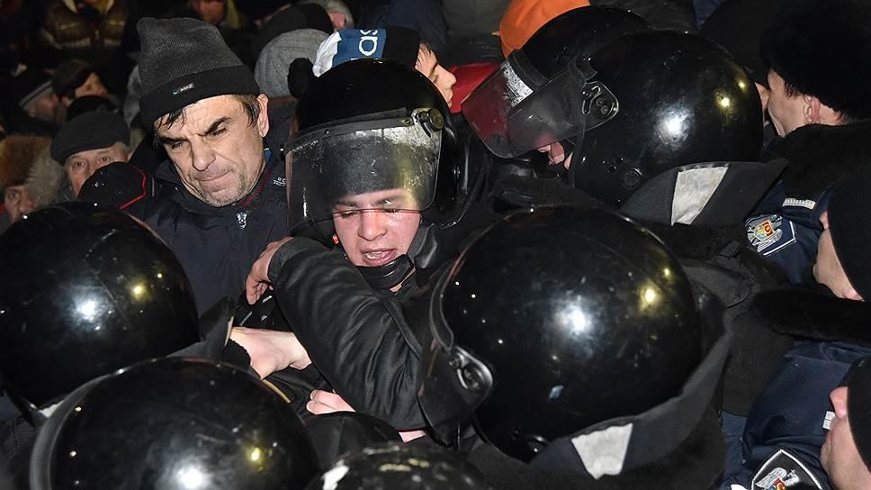Как протестующие отреагировали на утверждение нового состава правительства