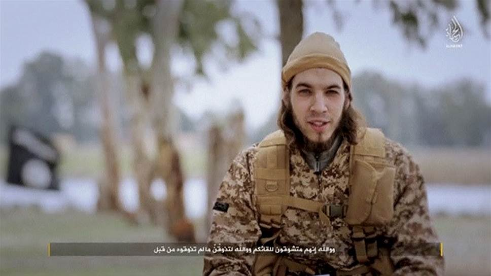 ИГ опубликовало видео с атаковавшими Париж террористами