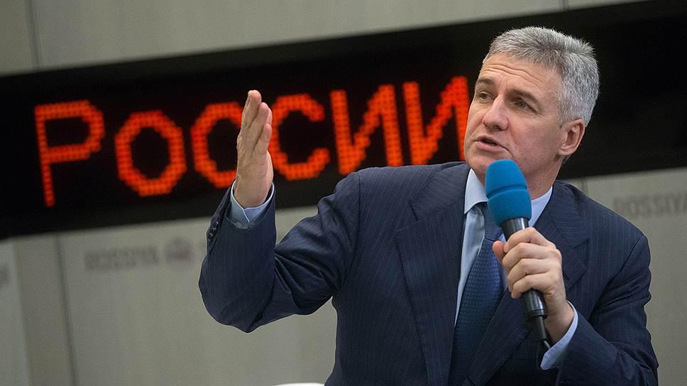 Директор Федеральной службы судебных приставов - главный судебный пристав России Артур Парфенчиков