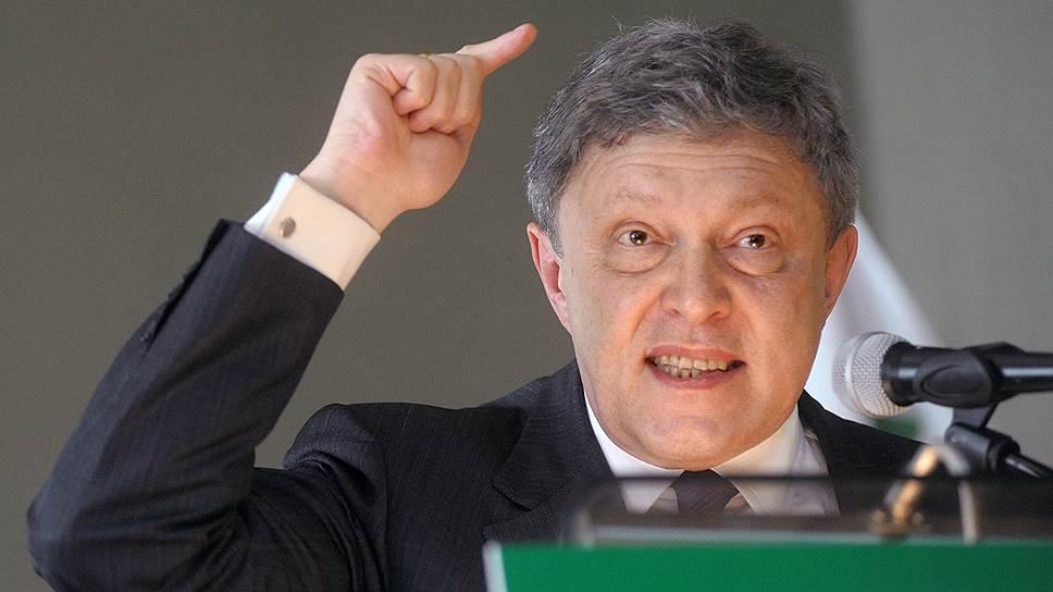 Основатель партии «Яблоко» Григорий Явлинский