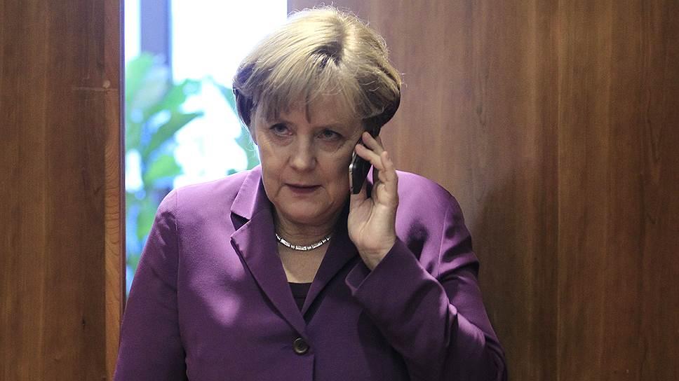 Ангела Меркель призвала Владимира Путина «оказать влияние на сепаратистов»