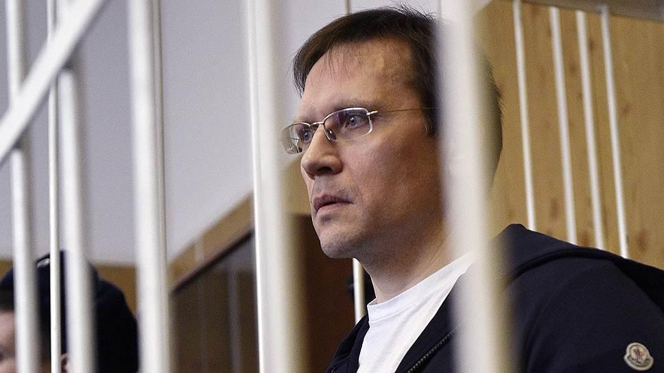 Бывший первый заместитель министра финансов Московской области Валерий Носов