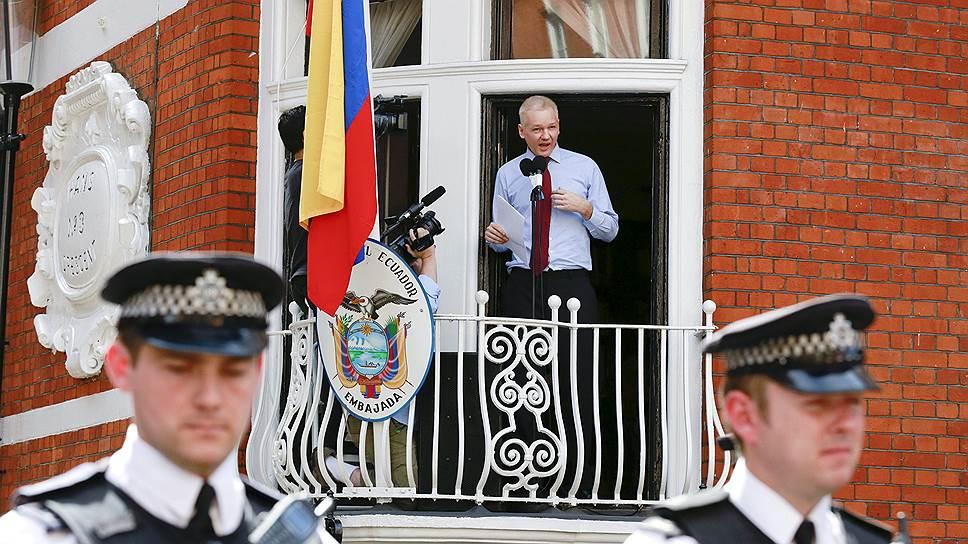ООН признала незаконным лишение Джулиана Ассанжа свободы