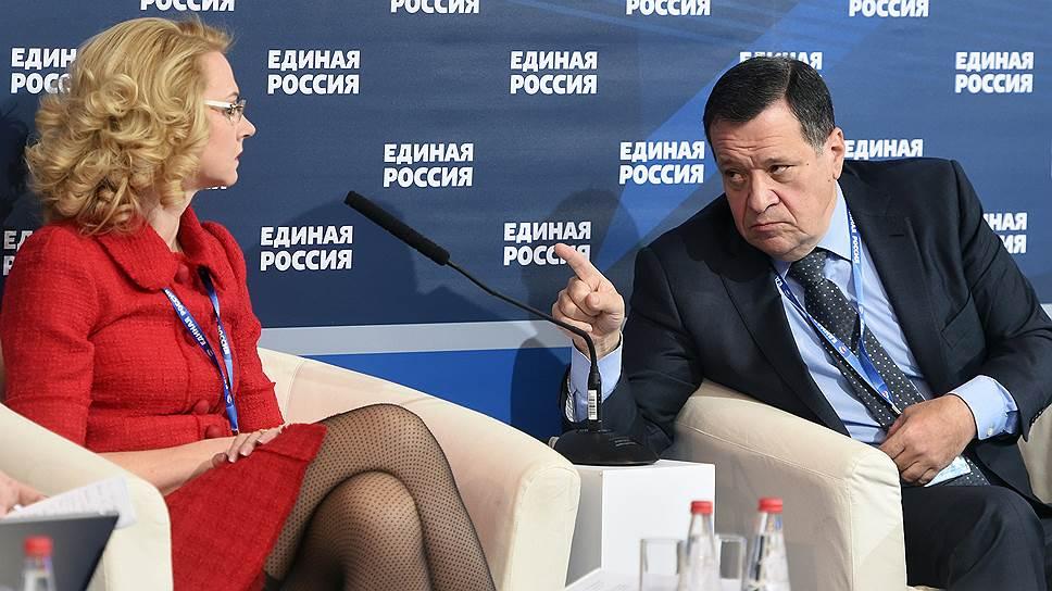 Татьяне Голиковой придется поработать вместе с единороссами над предвыборной программой партии власти
