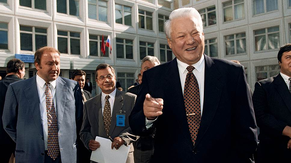 Кто были ключевыми фигурами президентской гонки 1996 года