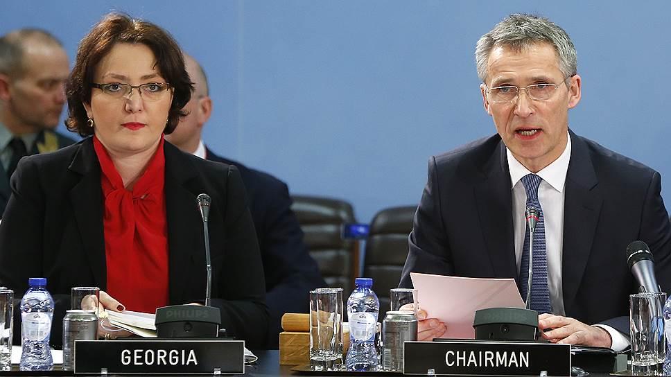 Грузия заслужила похвалу от НАТО