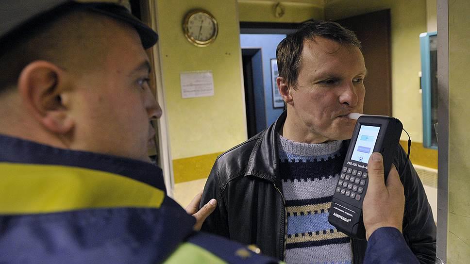 В Госдуме хотят упростить тест на опьянение водителей
