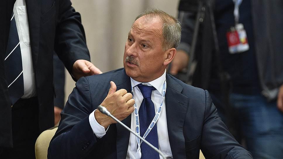 Глава Внешэкономбанка (ВЭБ) Владимир Дмитриев