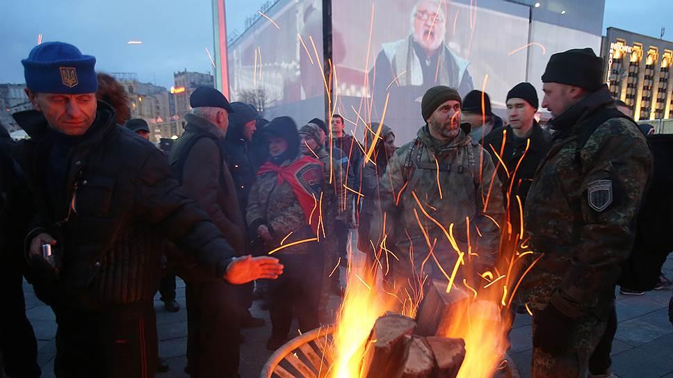 «Третий Майдан» отказывается сдавать позиции