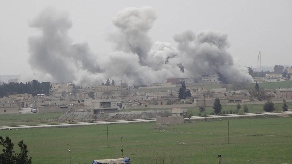 Сирийский огонь потушили не до конца