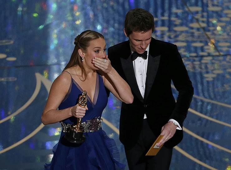 «Оскар» в номинации «лучшая актриса» получила Бри Ларсон